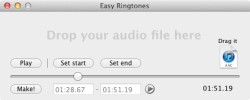 easy create ringtones mac make
