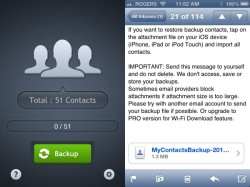 transfer copy backup app my contacts