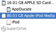 how to format ipod classic with disk utility